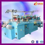 CH-350 automatic sticker label die cutting machine with side puncher
