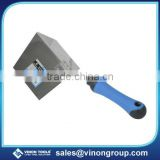 <b>Stainless</b> <b>steel</b> Insidel/Outside corner <b>trowel</b> W/TPRsoft grip handle, Brick <b>trowel</b>, Gauging <b>trowel</b>