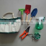 6pcs garden tools set in handbag