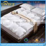 100% Cotton Downproof Single Size Feather Mattress Topper