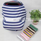 mom stripe baby carrier breastfeeding nursing cover scarf car seat cover baby