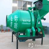 Self loading JZC350 concrete mixer
