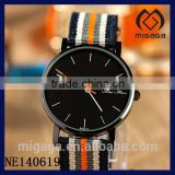 fashion <b>black</b> dial canvas <b>strap</b> sporty <b>watch</b>