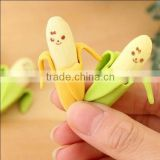 Kawaii Banana Rubber Erasers for kids Cute Novelty Stationery