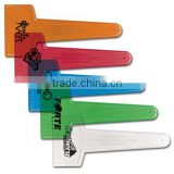 USA Made Large Translucent Ice Scraper - made from break-resistant plastic and comes with your logo.