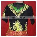Beautiful Kaftan Kurti Tops New designs Batik Kaftan Beachwear Tunic Tops
