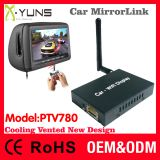 PTV780 Car mirror link box in new design for ios10 airplay screen mirroring