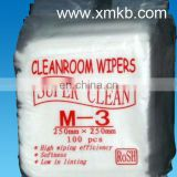 Cleanroom wipers