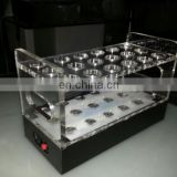 acrylic shot glass tray for serving