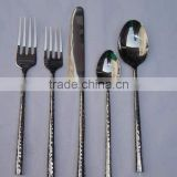 hammerred antique cutlery for sale