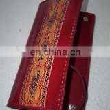 genuine leather money purse exporter, pure leather wallets manufacturer