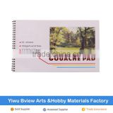 high quality artist painting gouache paper pad