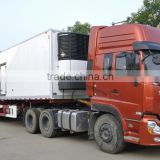 QINGZHUAN 30T HOWO refrigerator trailer Cold truck for sale China factory