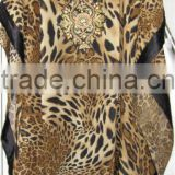 LEOPARD PRINT kaftan COVER UP