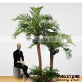 VAD10167wedding table centerpiece tree palm tree table decoration mini palm tree