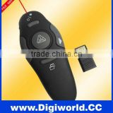 Mini Wireless Presenter Laser Pointer with LED Red laser