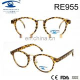 2017spring high quality fashion style leopard print PC reading glasses