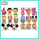 2014 high quality different size foil cartoon character balloons                                                                         Quality Choice