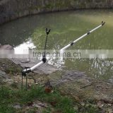 Telescoping 137CM Fishing Rod Holder Adjustable Fishing Tool Aluminum Alloy
