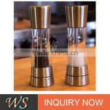 WS-PG14 New probducts Stainless steel salt and pepper salt and pepper grinder set /salt pepepr mill