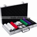 300pcs Poker Set with Aluminum Case