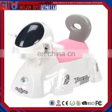 New design robot dog ride on children toilet sit implement
