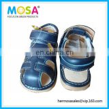 Branded New Baby Boy's Squeaky Sandals Blue siz 0-3Y