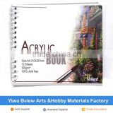 profession cheap acrylic drawing color pad
