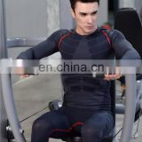 Latest long sleeve blue knitted Breathable Workout clothes