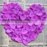 Heart silk flower petals bulk