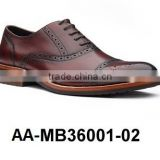 Genuine Leather Men's Dress Shoe - AA-MB36001-02