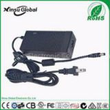 Constant voltage 12V5A ac to dc power adapter with DOE Level VI