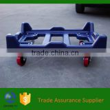 plastic logistic dolly with wheels