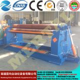 Small diameter rolling! MCLW11NC hydraulic symmetric three roller coiling machine