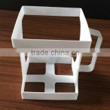 plastic handle for milk carton coffee cup holder