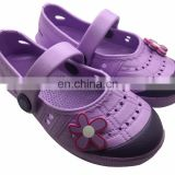 Cheap wholesale kids shoes/factory price girls eva shoes