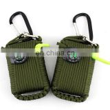 A025 Survival Bracelets survival tool kit Rescue Parachute Cord Wristbands Emergency Rope Buckle