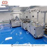 Flat Mask Making Machine  Activated Carbon Cloth Disposable Face Mask Making Machine