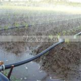 Farm sprinkler irrigation pipe with flat emitter