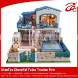 2015 Wooden doll house,DIY doll house