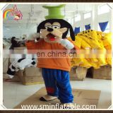 Goofy mascot costume, fur cartoon dog figure cosplay costume