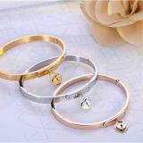 Gold Rose Gold Silver PVD Plating 316L Stainless Steel Bracelets Bangles For Men Womens