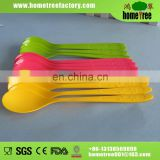 new colorful plastic spoon with long handle