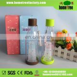 500ml plastic tea fruit infuser water bottle