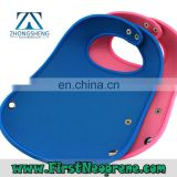 Factory Production 3mm Thick Neoprene Baby Bib Manufacturer
