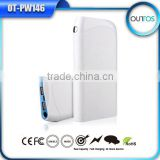Mobile battery bank 17600mah high capacity power bank with small size