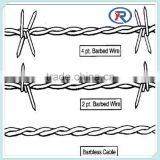 barbed wire mesh fence/zinc coated barbed wire