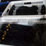 double drawn/virgin single/raw hair/hair braid extension/weaving weft extension/ /pre-bonded/clip on human hair remy extension