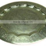 Hammered Embossed Charger Plate