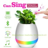 3 in 1 Bluetooth music flowerpot with Night light colorful changing light piano player